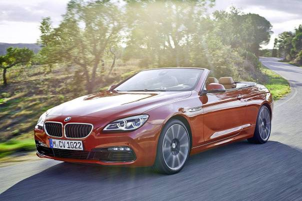 2015 BMW 6 Series cabrio Facelift