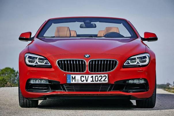 2015 BMW 6 Series cabrio Facelift