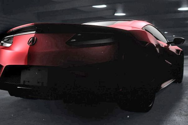 Honda / Acura NSX 2015 first picture