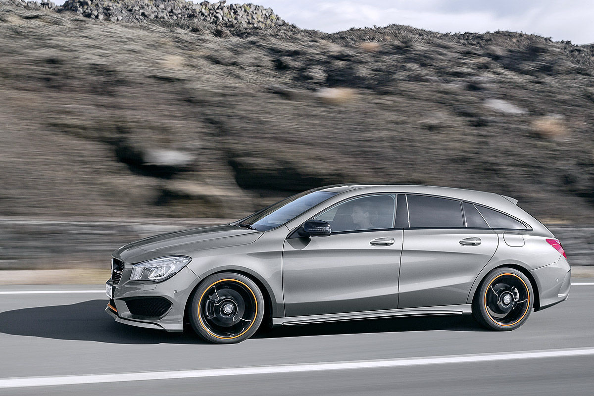 mercedes cla shooting brake 2015 review specs and price. Black Bedroom Furniture Sets. Home Design Ideas