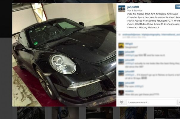Porsche 911 GT3 RS 2015 photo